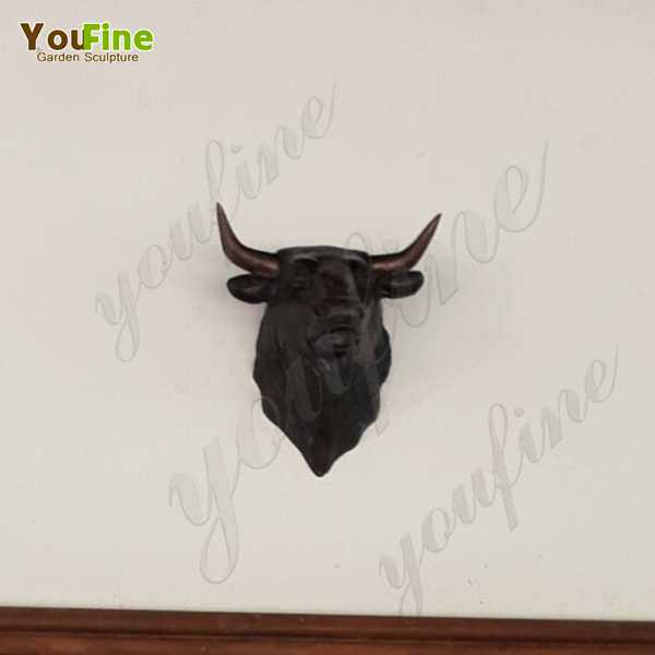 Bronze Bull Head Sculpture Feedback from Our Customer