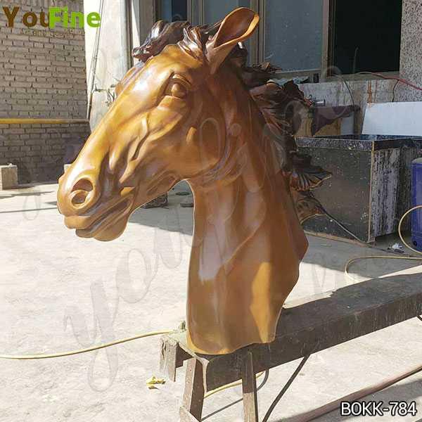 horse head sculpture for sale