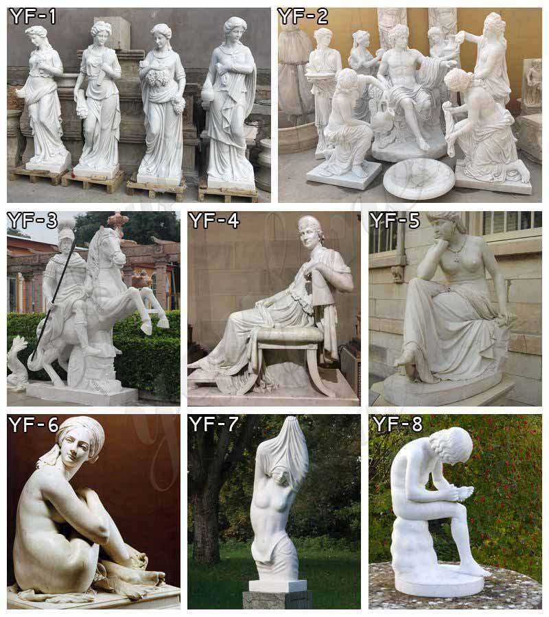 marble figure statues