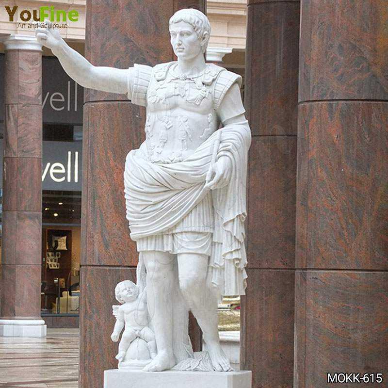 Augustus of Primaporta Marble Statue