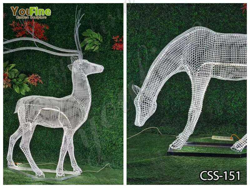 Beautiful Deer Sculpture Made for Sale