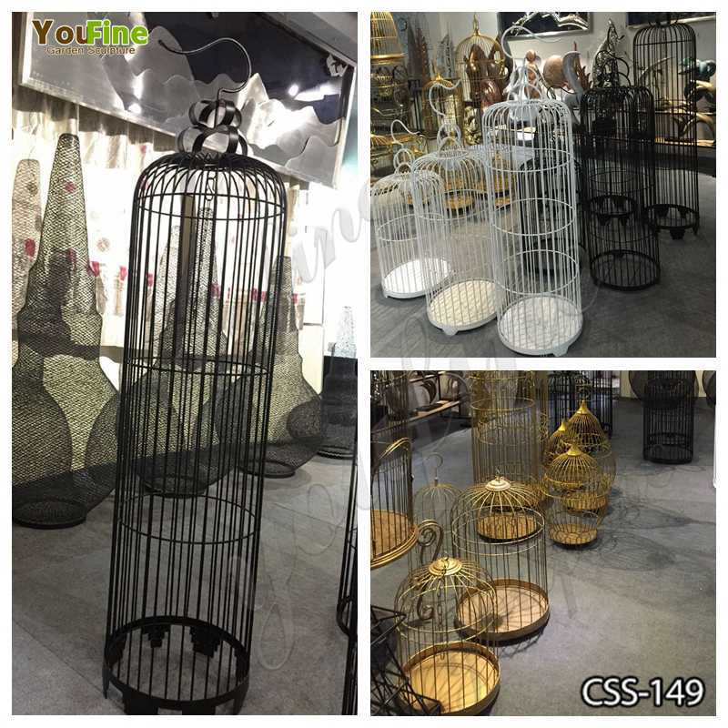 Beautiful Stainless Steel Bird Cages Various Designs for Sale