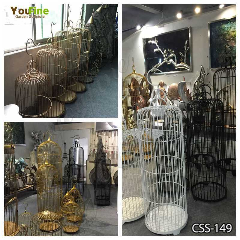 Beautiful Stainless Steel Bird Cages Various Designs