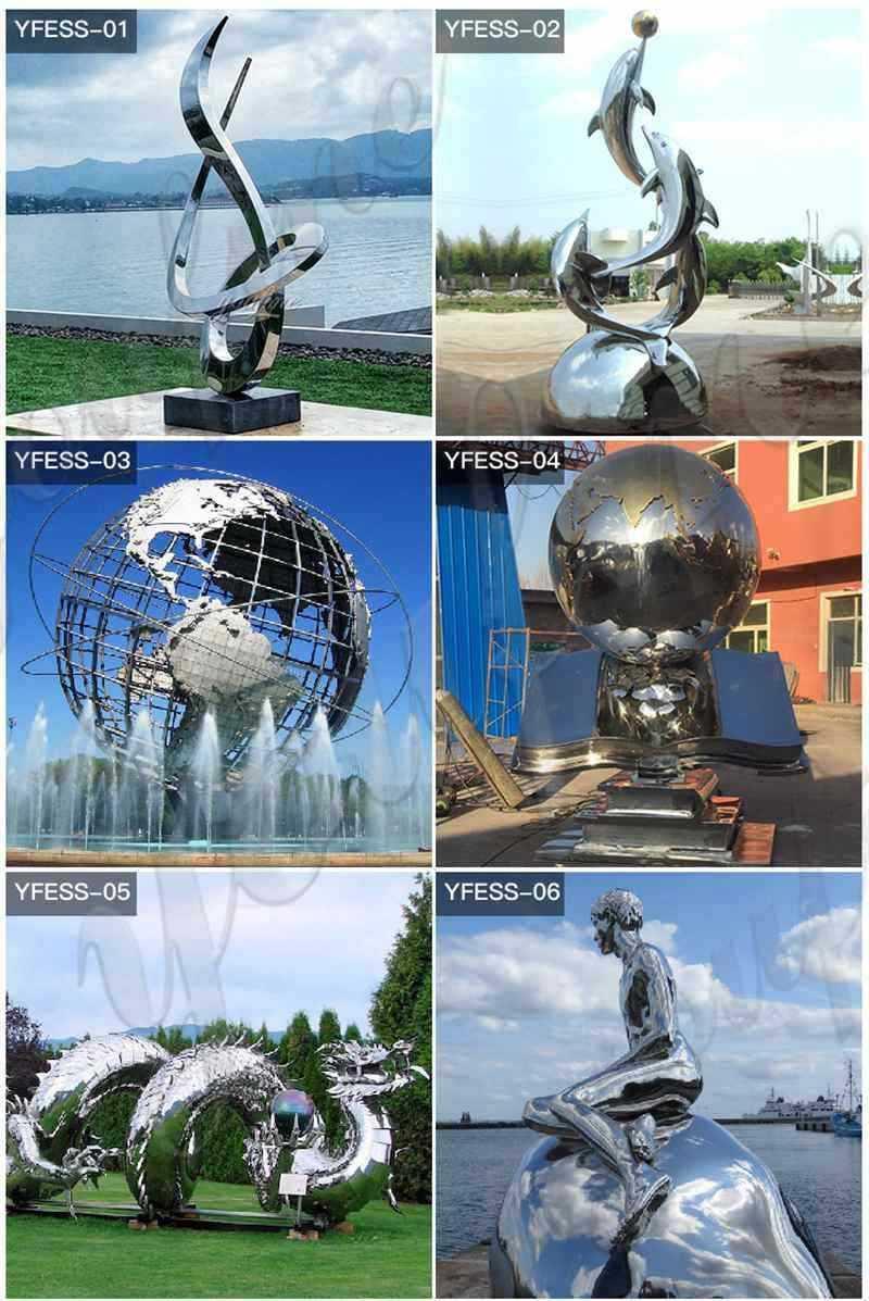 Beautiful-Stainless-Steel-Metal-Sculpture