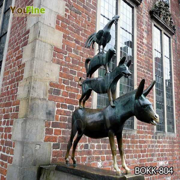 Bronze Bremen Town Musicians Statue for Sale