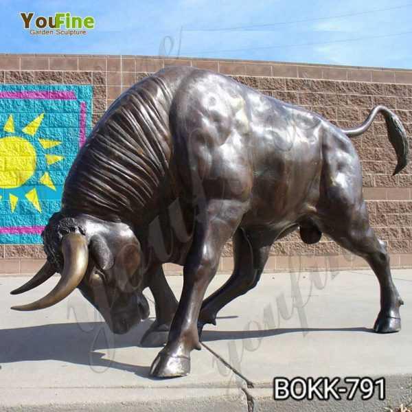 Bronze Life Size Bull Statue for Garden Supplier