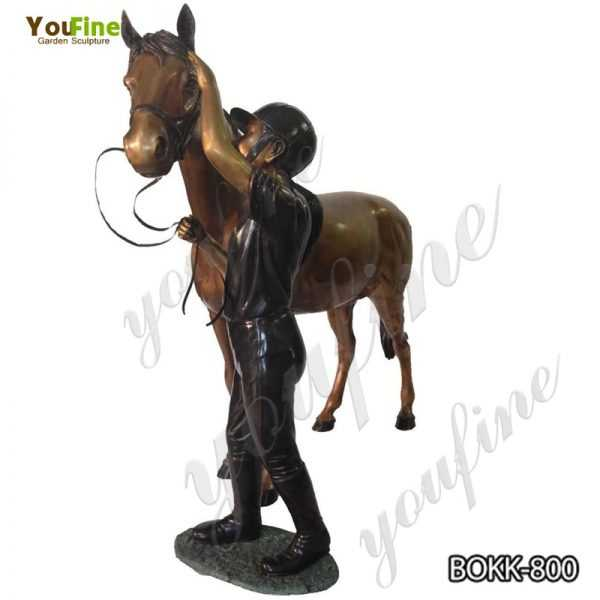 Buy Bronze Horse and Knight Statue