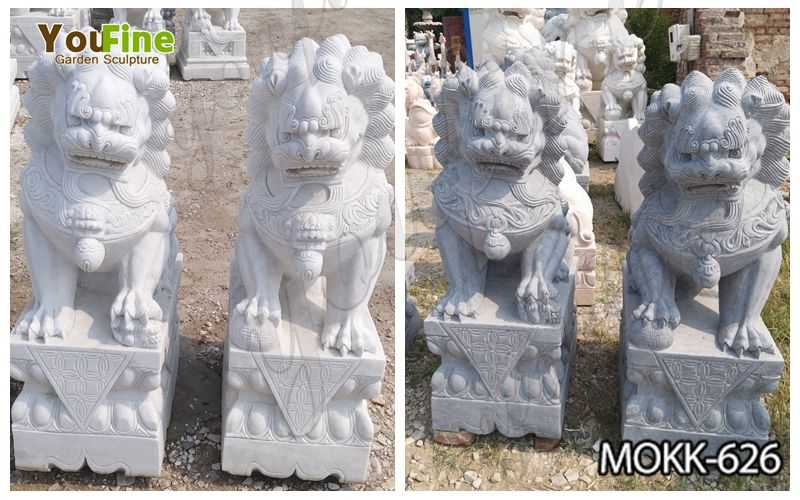 Buy Full Size Chinese Guardian Lion Statues for Sale