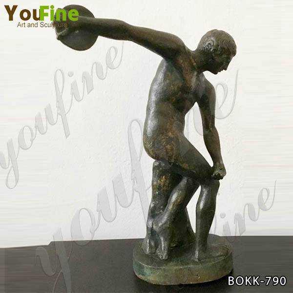 Discobolus Bronze Art Statue for Sale