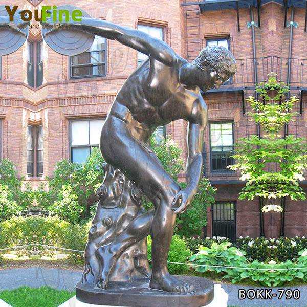 Famous Discobolus Bronze Art Statue for Sale BOKK-790