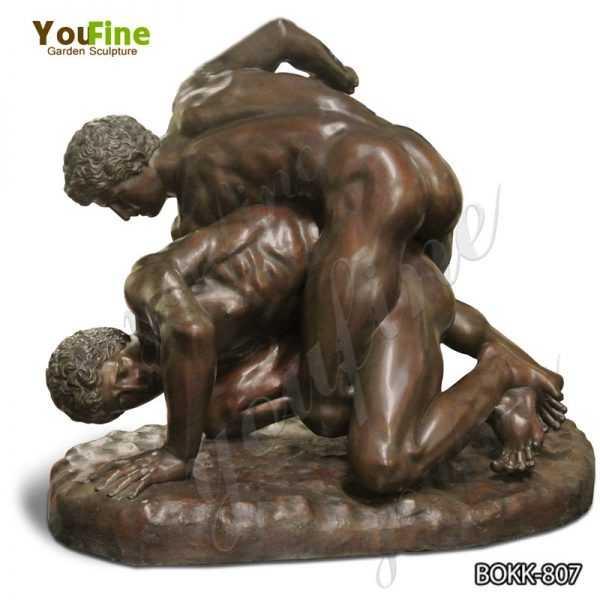 Famous Bronze Greco-Roman Wrestlers Statue for Sale