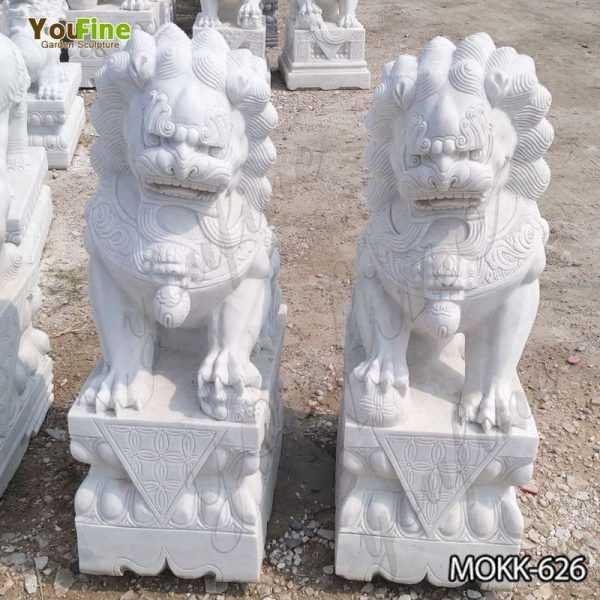 Full Size Chinese Guardian Lion Statues for Sale