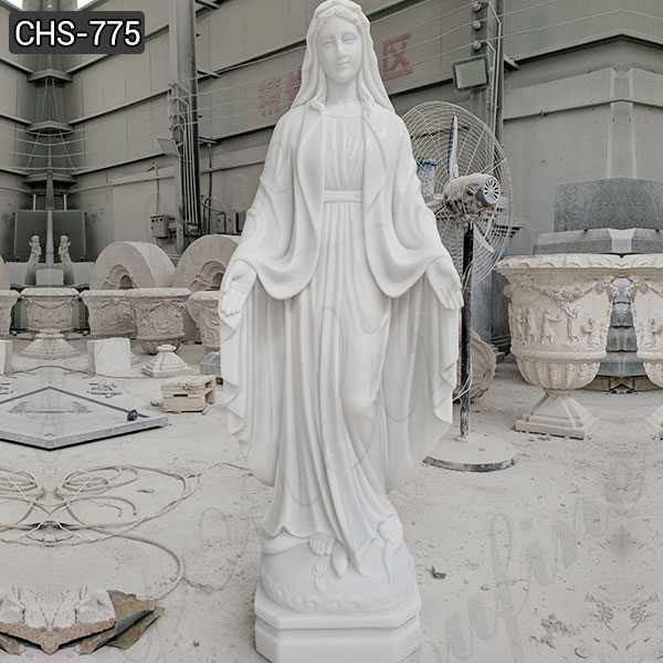 Full Size Saint. Mary Marble Sculpture