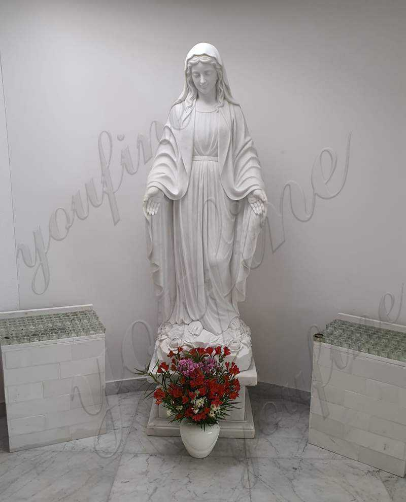 Good Feedback About Virgin Mary Marble Statue