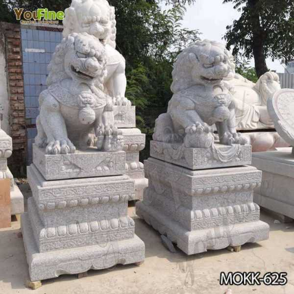 High Quality Outdoor Stone Foo Dog Statues Sale