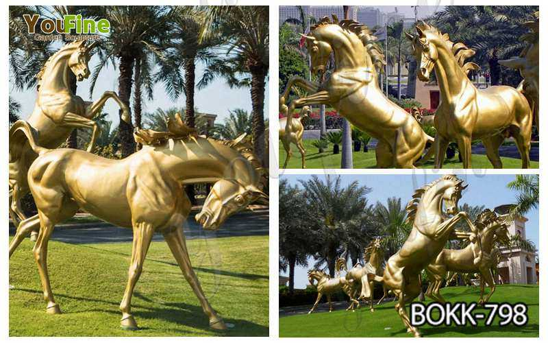Hot Sale Outdoor Bronze Horse Statue