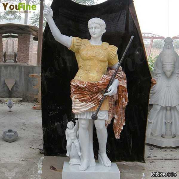 Julius Caesar Marble Sculpture