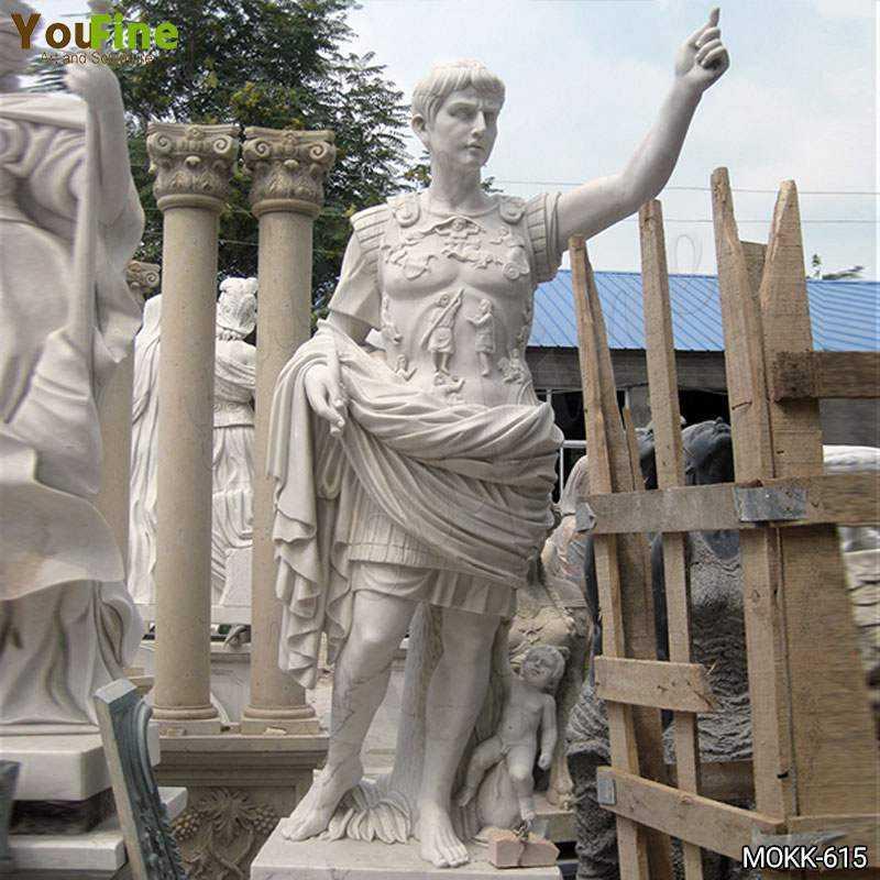 Julius Caesar Marble Sculpture for sale