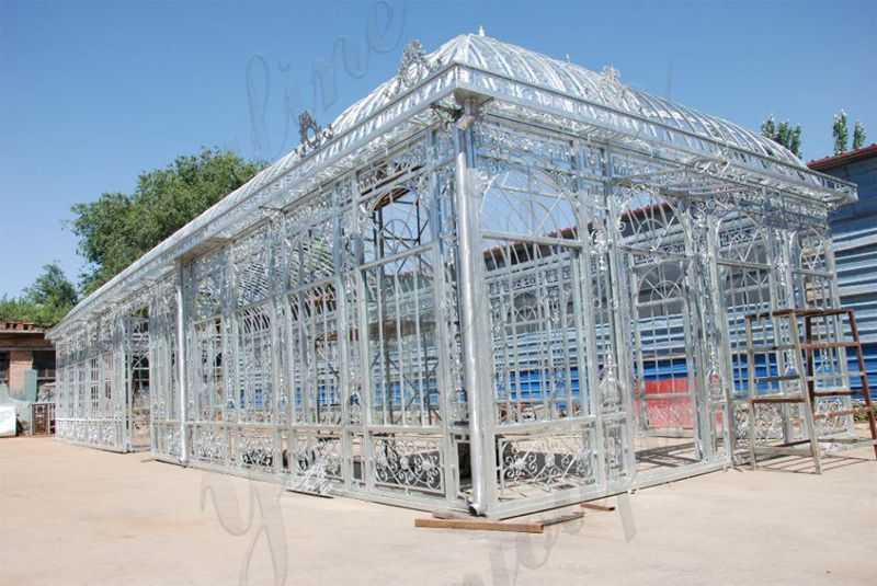 Large Metal Wrought Iron Gazebo
