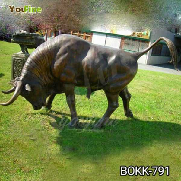 Life Size Bull Statue for Garden Supplier