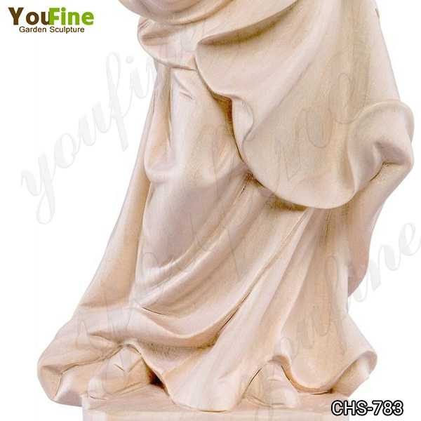 Life Size Marble Statue of the Bavarian Madonna for Sale