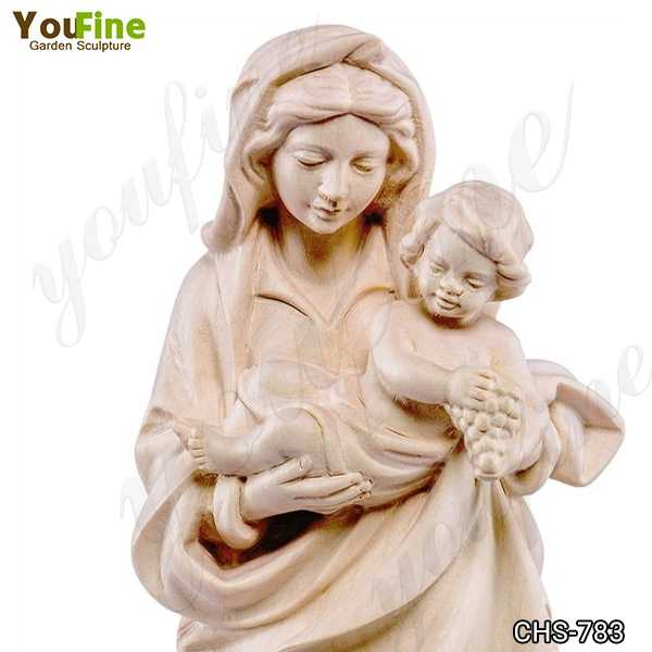 Life Size Marble Statue of the Bavarian Madonna