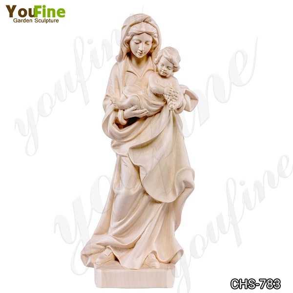 Life Size Marble Statue of the Bavarian Madonna for Sale CHS-783