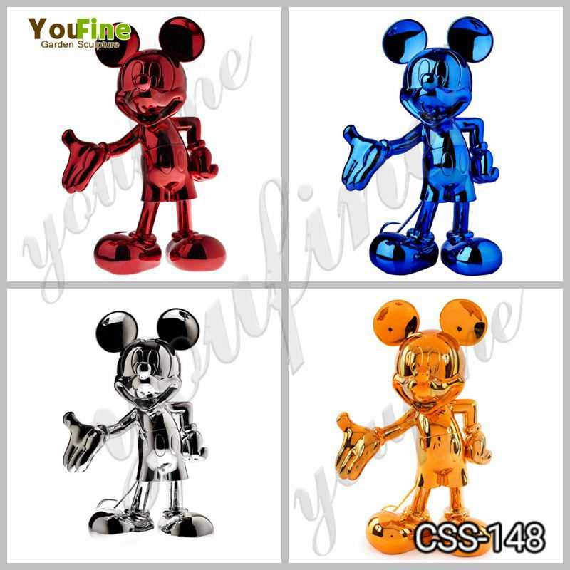 Mickey Mouse steel sculpture for sale