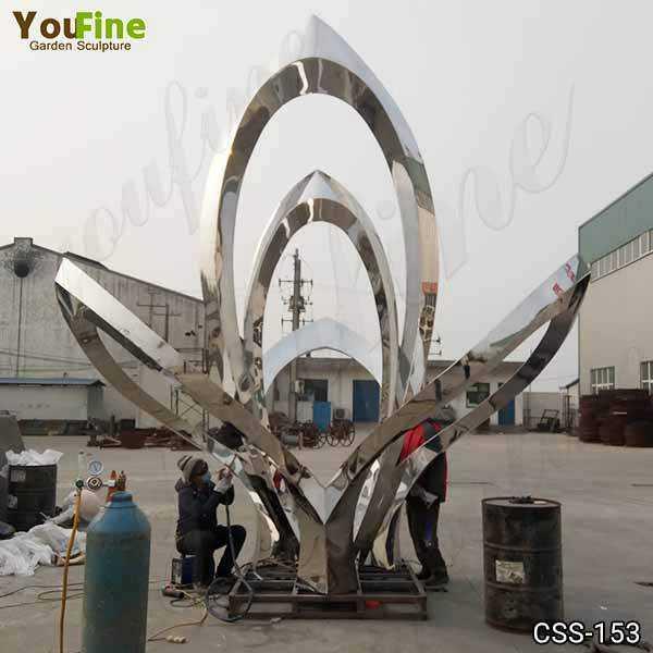 Outdoor Abstract Metal Sculptures for Sale
