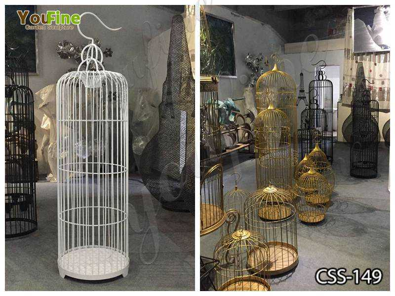 Stainless Steel Bird Cages Various Designs for Sale