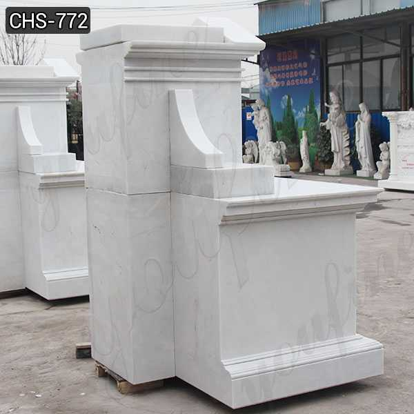 White Marble Altar Table Religious Church Altar Supplier