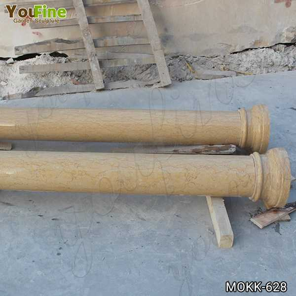 Natural Yellow Granite Tuscan Order Column Factory Supply MOKK-628