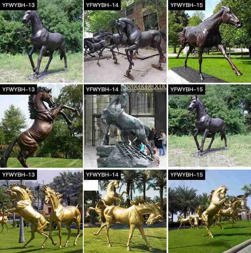 casting bronze animal statues