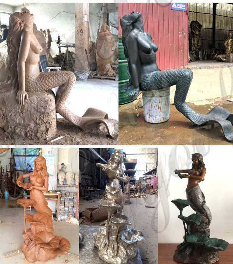 solid-bronze-mermaid-statue
