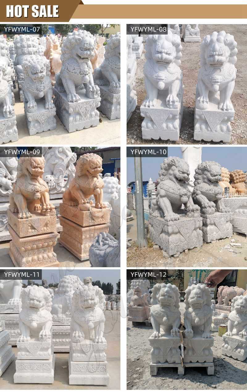 stone lion statue for sales