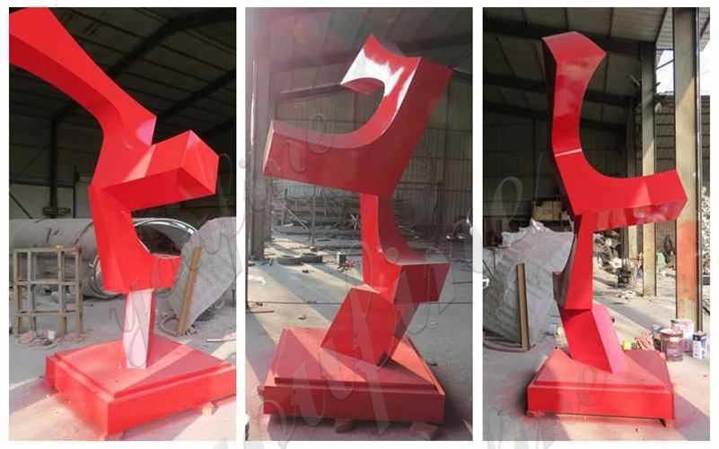 Abstract Metal Sculpture Manufacturer