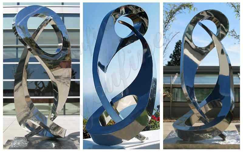 Abstract Stainless Steel Sculpture Supplier