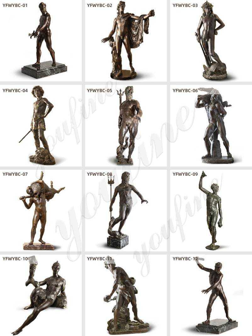 Bronze statues for sale