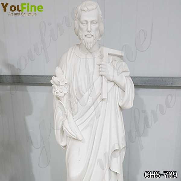 Catholic Marble Statue of St Joseph Factory Supply