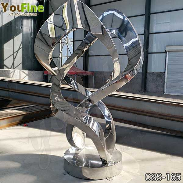 Contemporary Abstract Metal Lawn Sculpture Supplier