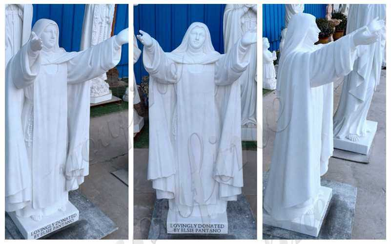 Custom Made Saint Sister Marble Statue Catholic