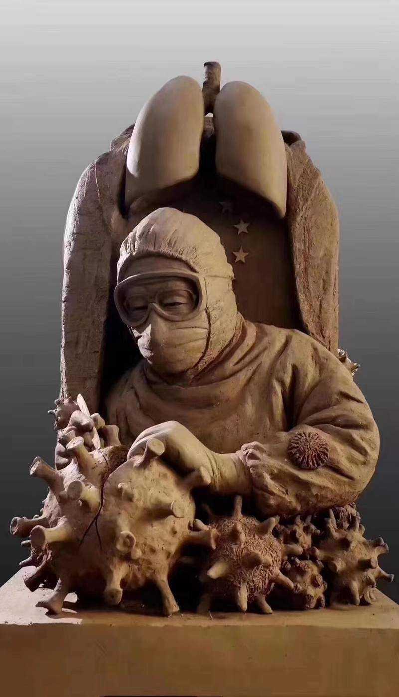 Custom made bronze sculptures