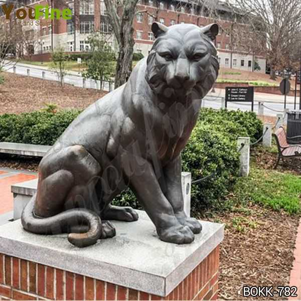 Full Size Metal Bronze Tiger Statue Manufacturer