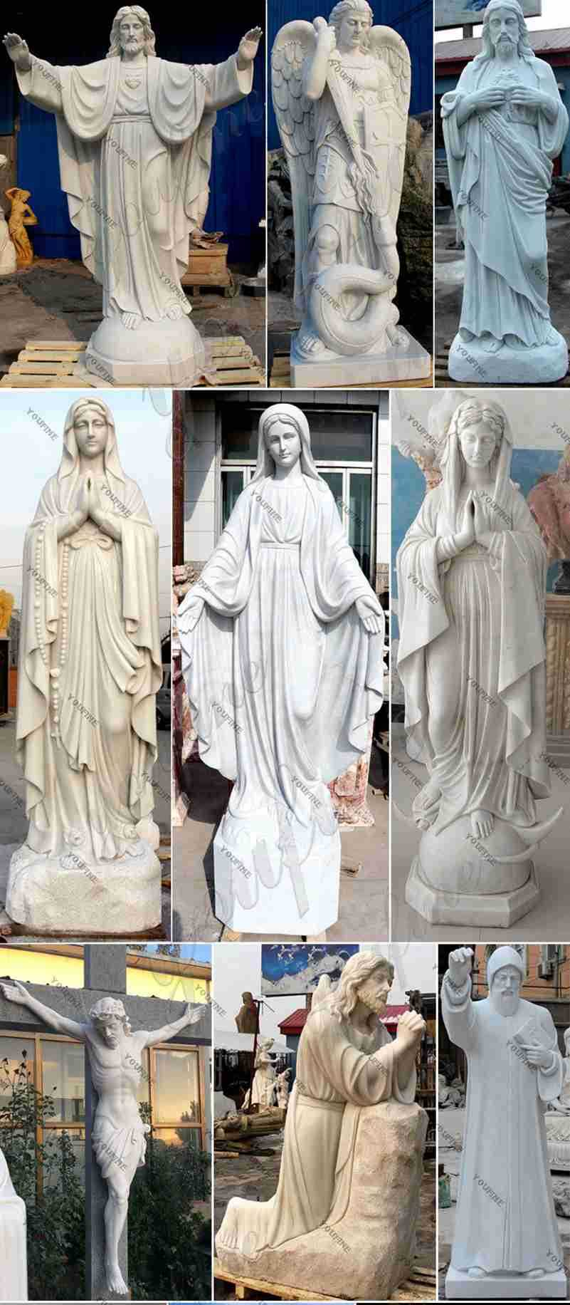 Jesus Christ Marble Statue for Sale