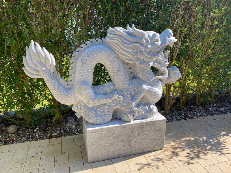 Life Size Gray Stone Dragon Sculpture Feedback