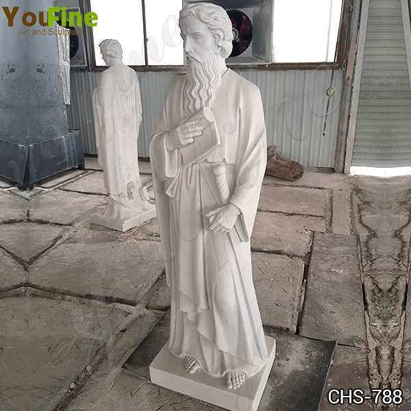 Life Size Marble St. Paul Statue Church Supply