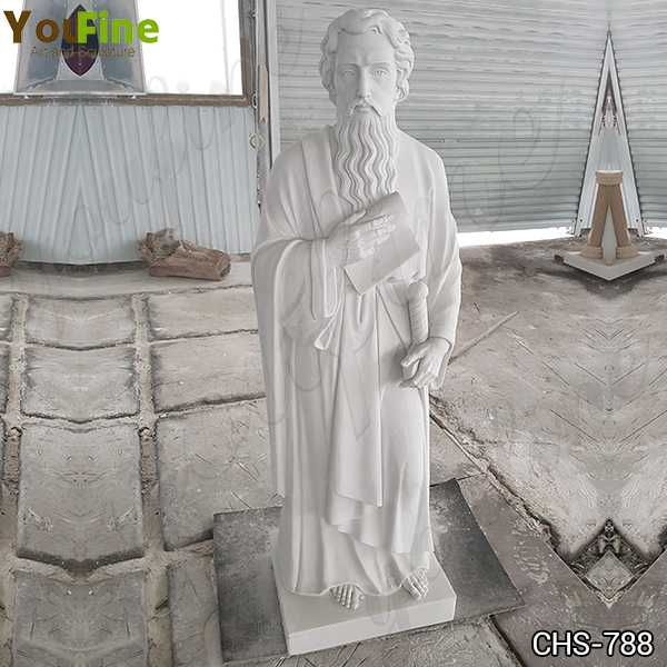 Life Size Marble St. Paul Statue Church Supply for Sale CHS-788
