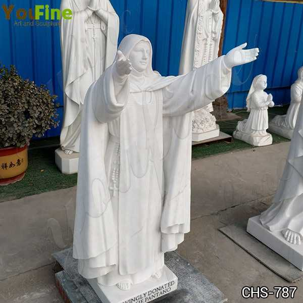 Life Size Saint Sister Marble Statue Catholic for Sale