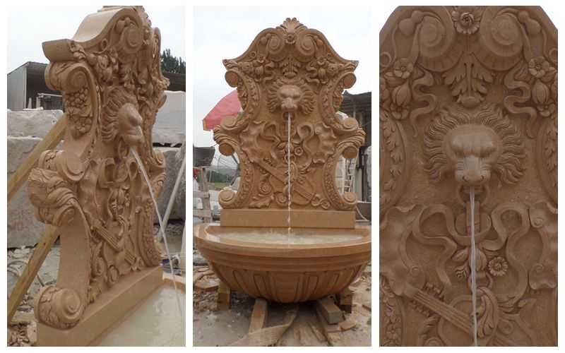 Marble Water Wall Fountain for Sale