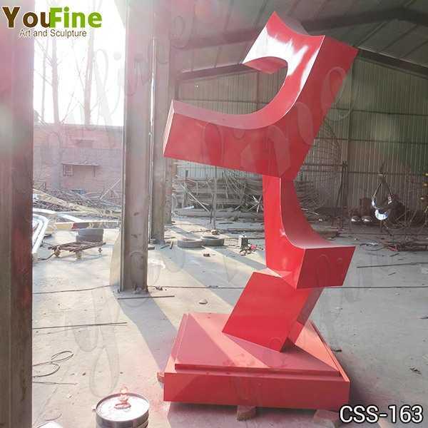 Modern Art Abstract Metal Sculpture